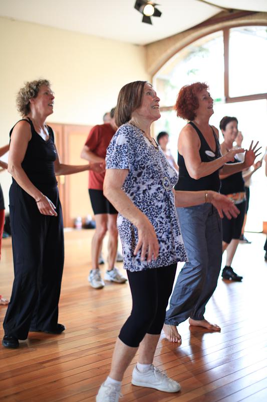 Rentner Dynamic Flow Methode z.B. Fitness-Tanz Zwickau mit Manuela