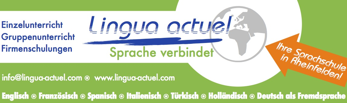 Anzeige Sprachschule Lingua aktuell