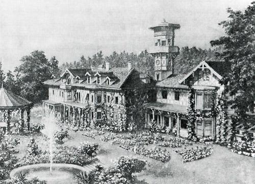 Schloss Mühlberg, Zeichnung von A. Imfeld