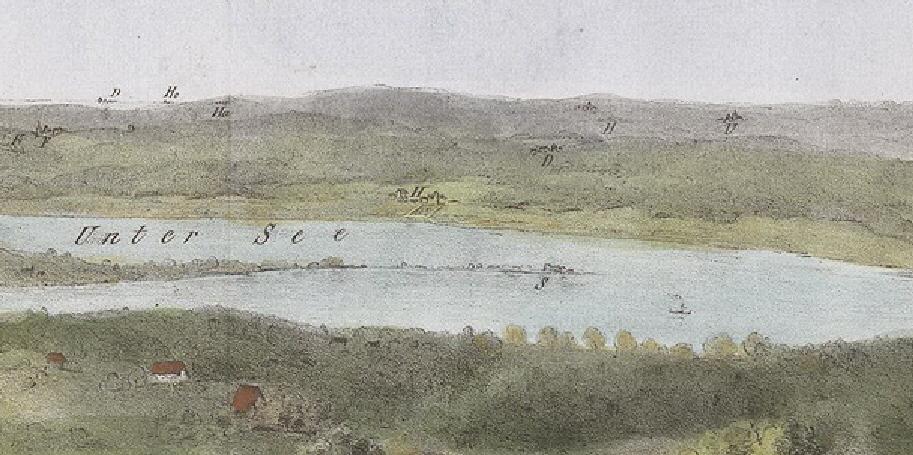 1829 gab es noch keinen Damm