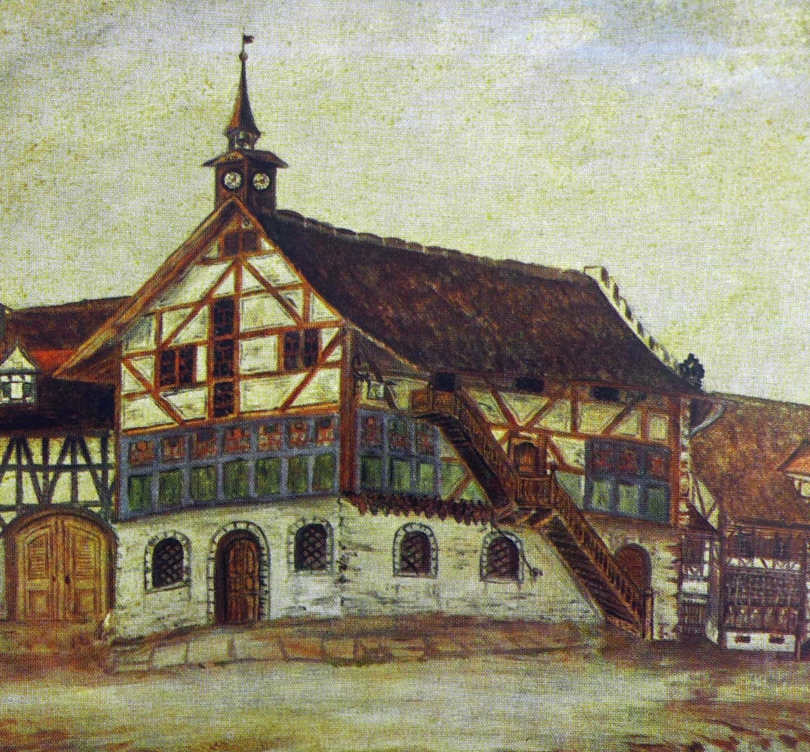 das erste Kauf- und Rathaus