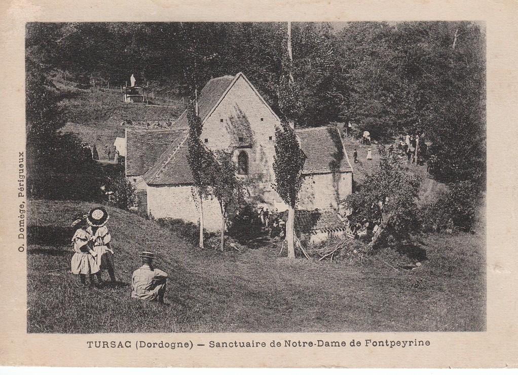 Pélerinage à Fontpeyrine