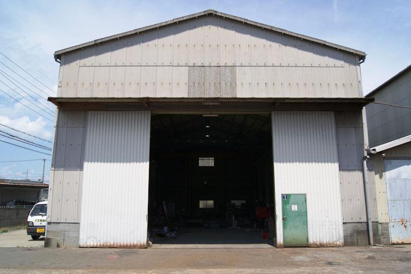 第二工場入口 W4850×H5200
