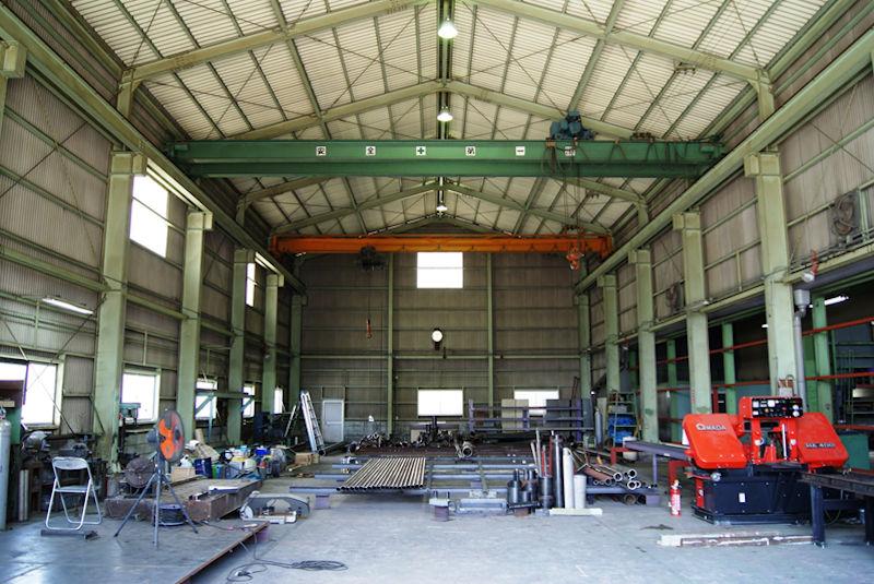 第二工場内部