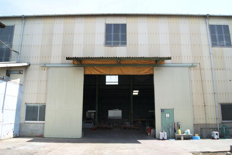 第一工場入口 W4600× H4800