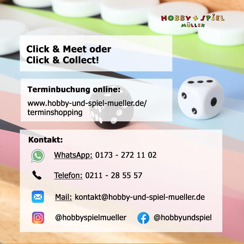 Click & Meet und Click & Collect!