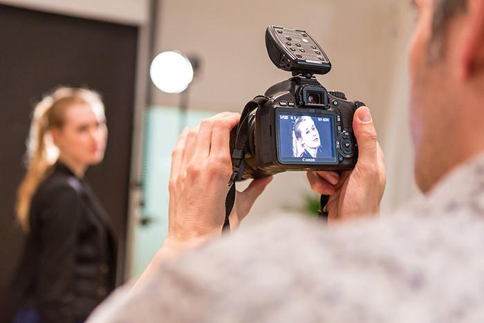 Studiofotografie Portraitfotografie Fotokurs Teilnehmer