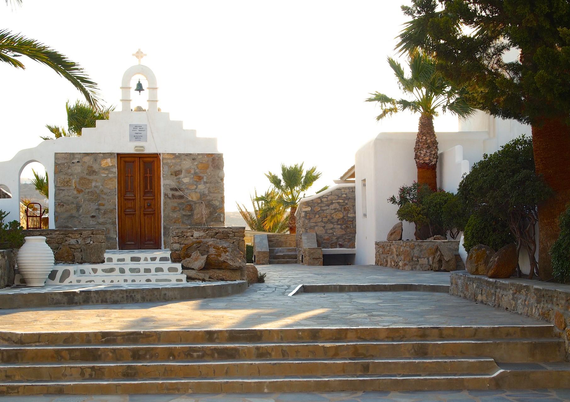 Mykonos - Hotel San Giorgio - Chapel - BYRH Beach Bags