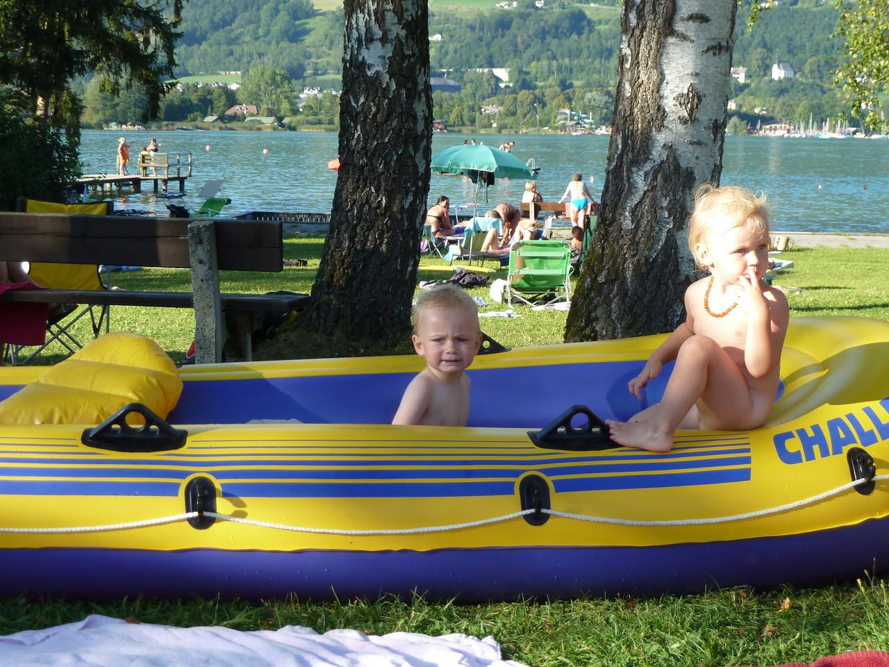 Badeplatz Schwarzindien