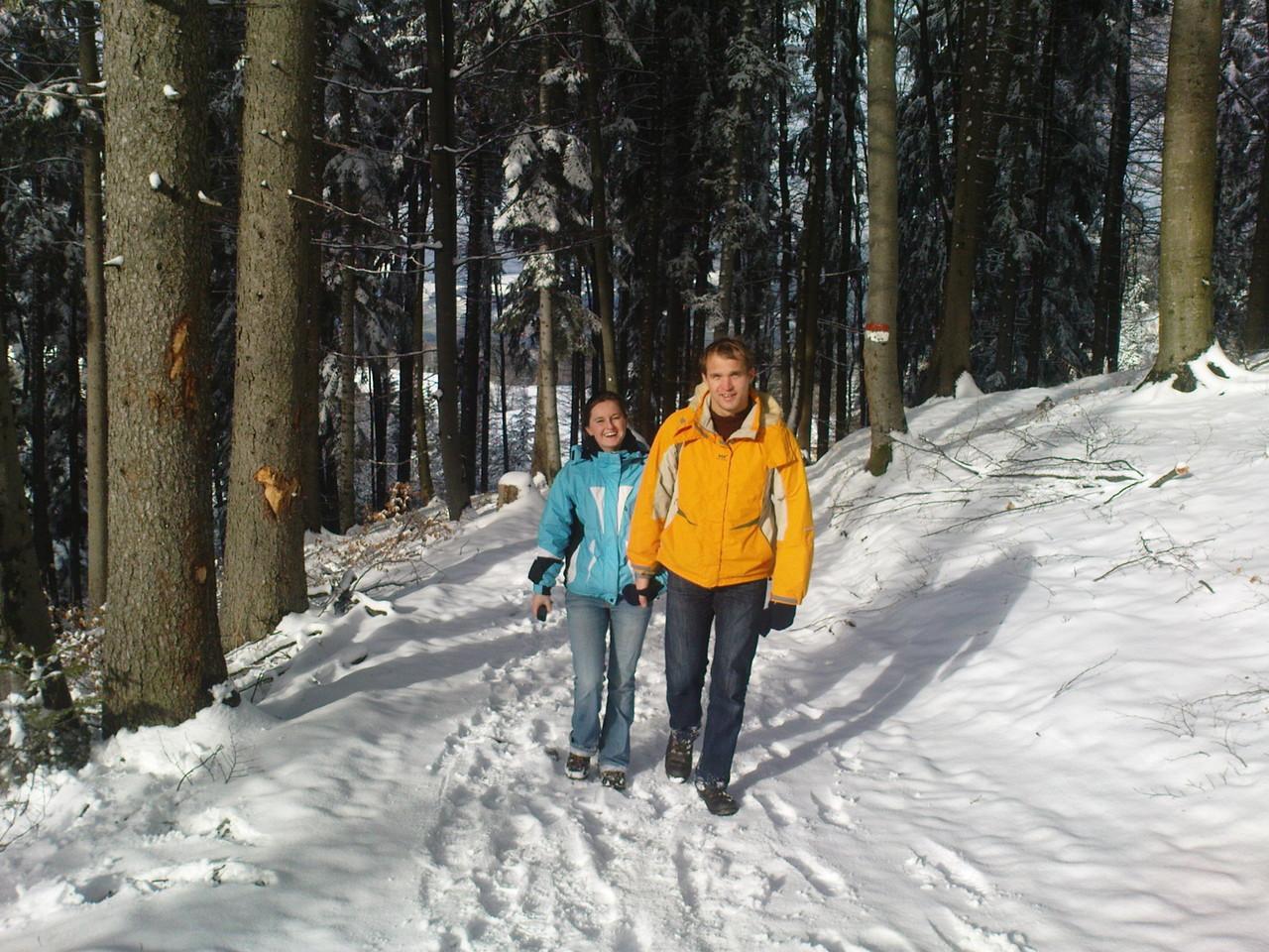 Winterwanderung auf den Schober ...