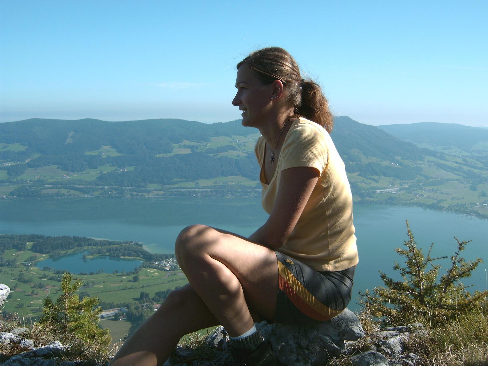 Gipfelerlebnis auf der Drachenwand.