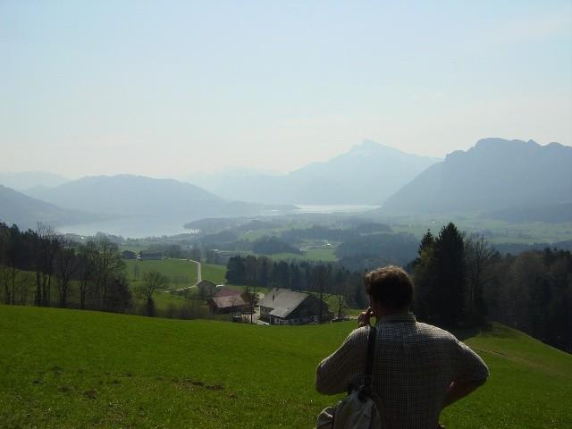 Blick vom Kolomansberg - Rundweg.