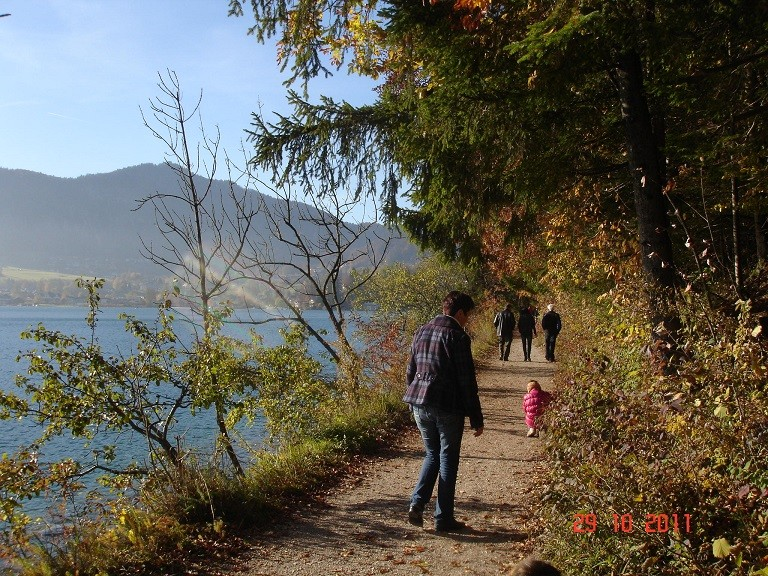 Wanderweg von Fürberg nach St.Gilgen.