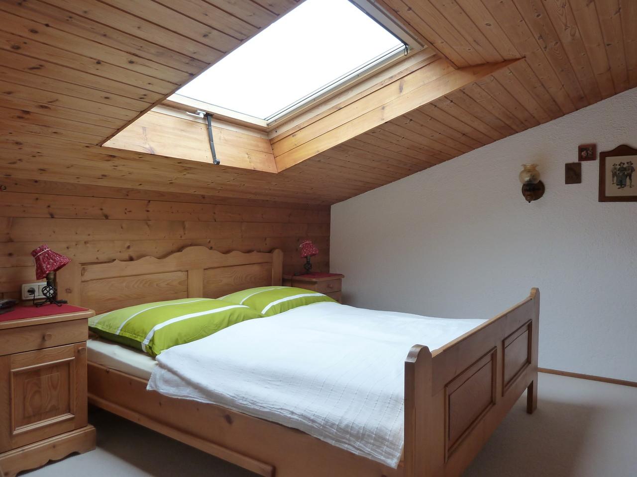 Sterndl-Guckn vom Bett aus ...