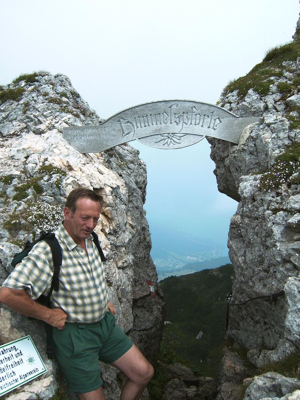 Die Himmelspforte am Schafberg.