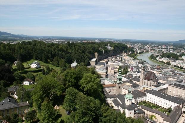 Salzburg von Salzburgalm