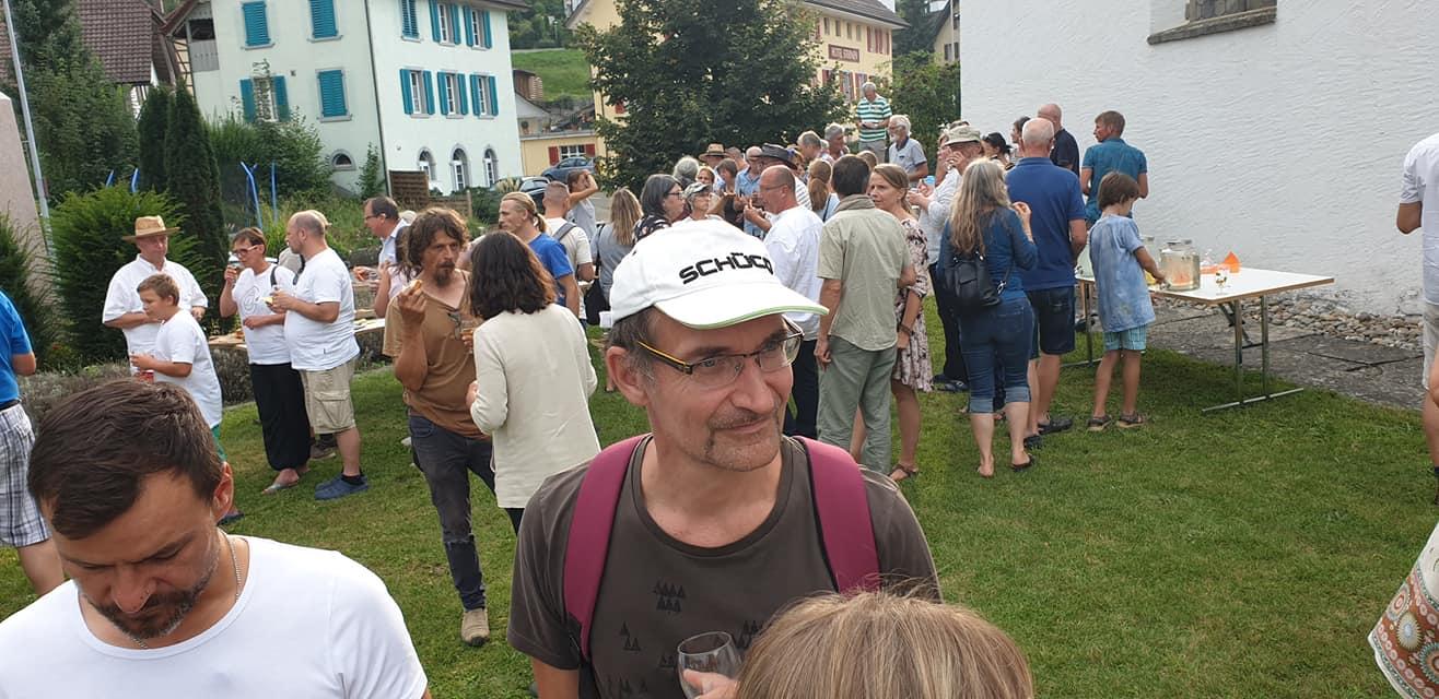 Hortustreffen Schweiz - Imbiss und Umtrunk