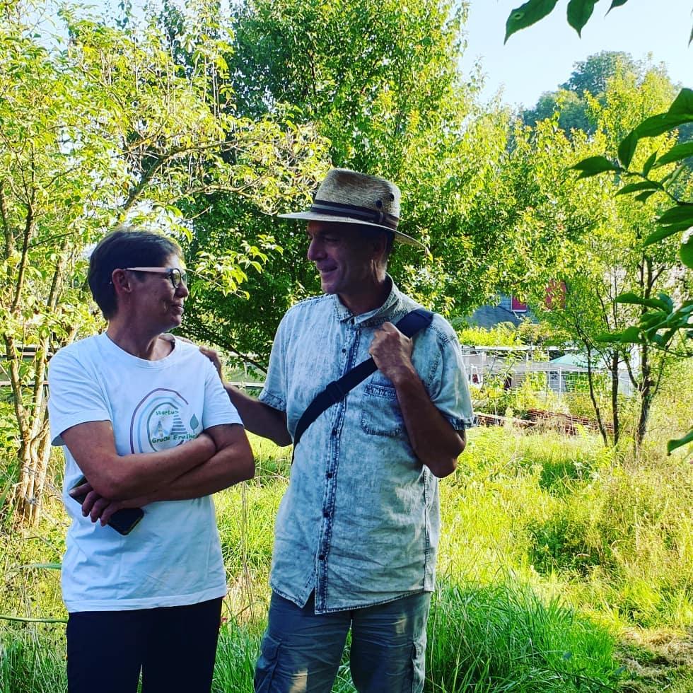 mit Manuela und Markus beim Hortustreffen in der Schweiz/ Wohlenschwil