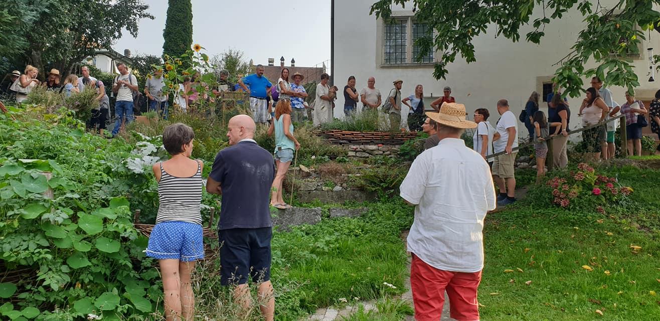 bei Carolin im Hortus / Hortustreffen Schweiz/ Wohlenschwil