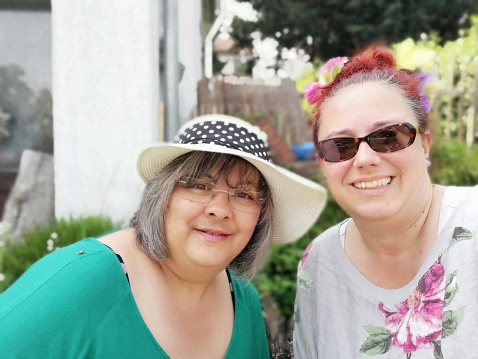 mit Bibi - unserer Freundin