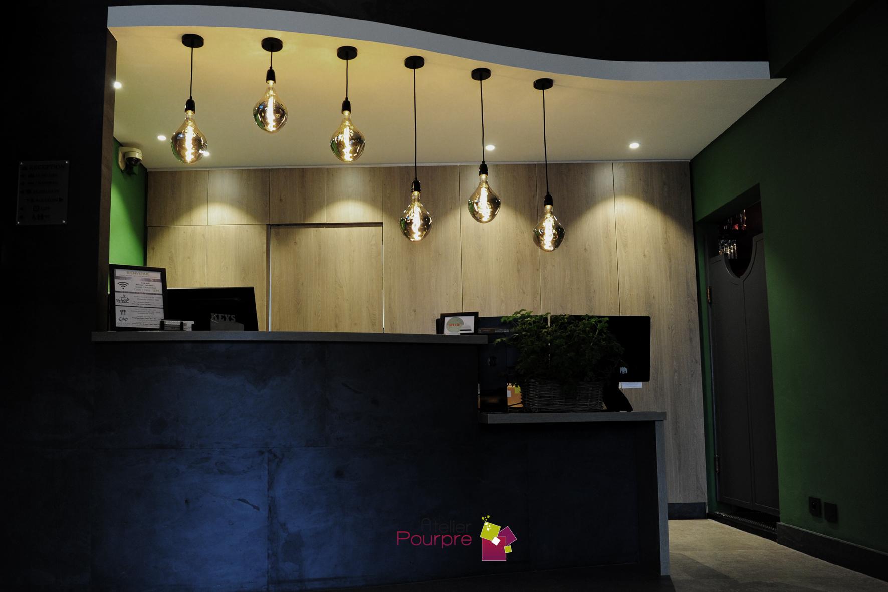 Conception desk Hôtel