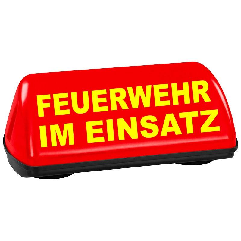 Vermeintlichen KFZ-Brand
