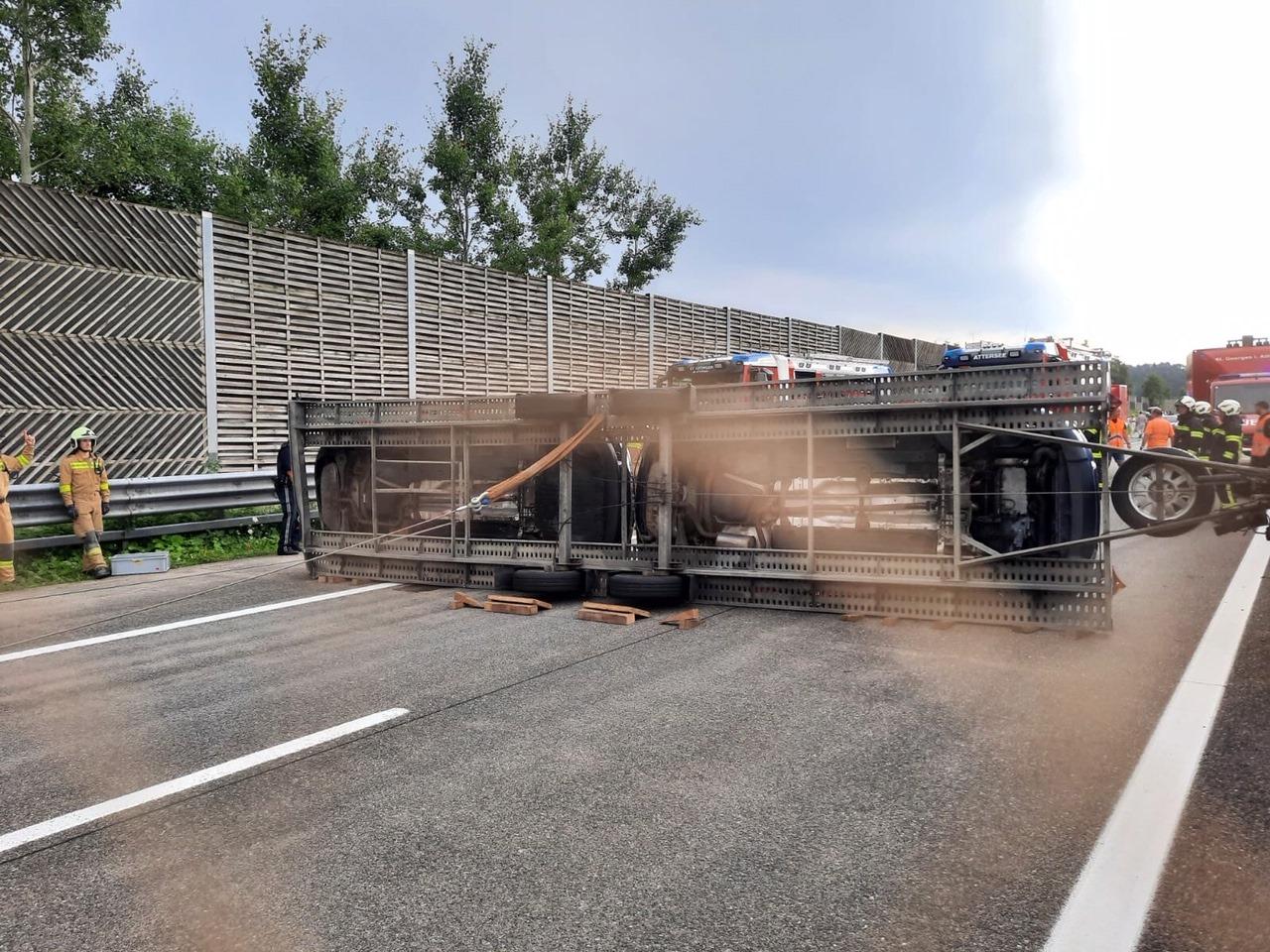 Reiseverkehr sorgt für Einsätze auf der A1
