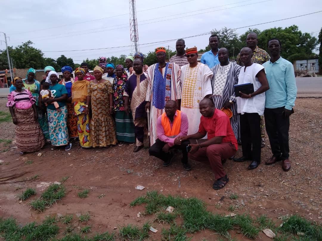 les représentantes des femmes et des notables du villages
