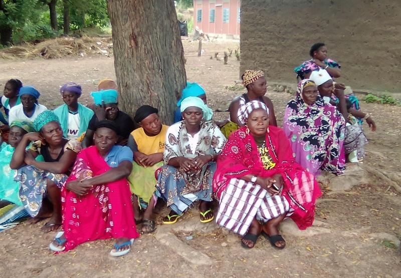 Le groupement de femmes