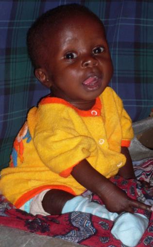 Bereits am 03.07.2010 konnten wir Lawrence ein Lächeln und Quasseln entlocken