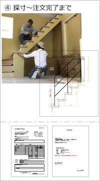 アイアン手摺りのサイズの計り方やデザイン