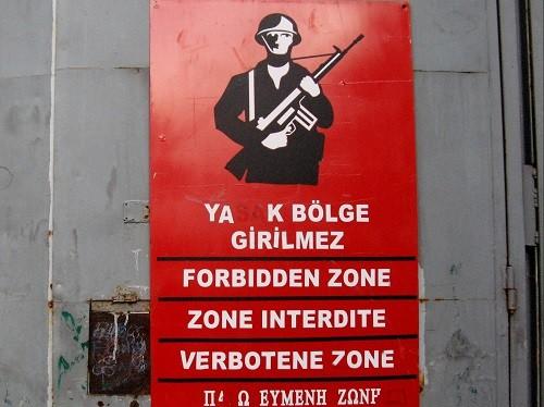 Verbotene Zone Zypern