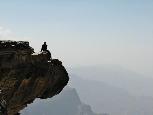 Aussichtspunkt im Jemen