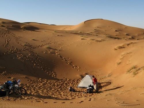 Wüstenlager waren immer Höhepunkte