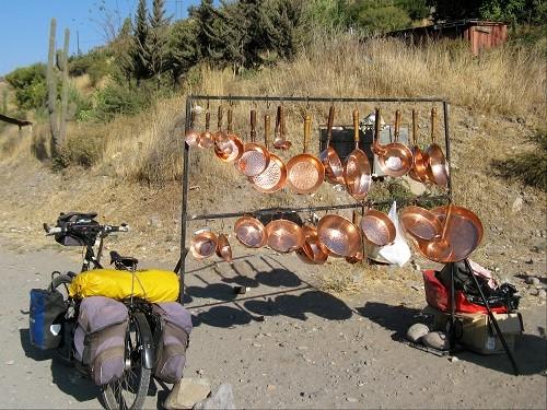 Pfannen braucht jeder Langzeitradler.