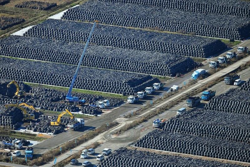 捨て場のない福島の汚染土