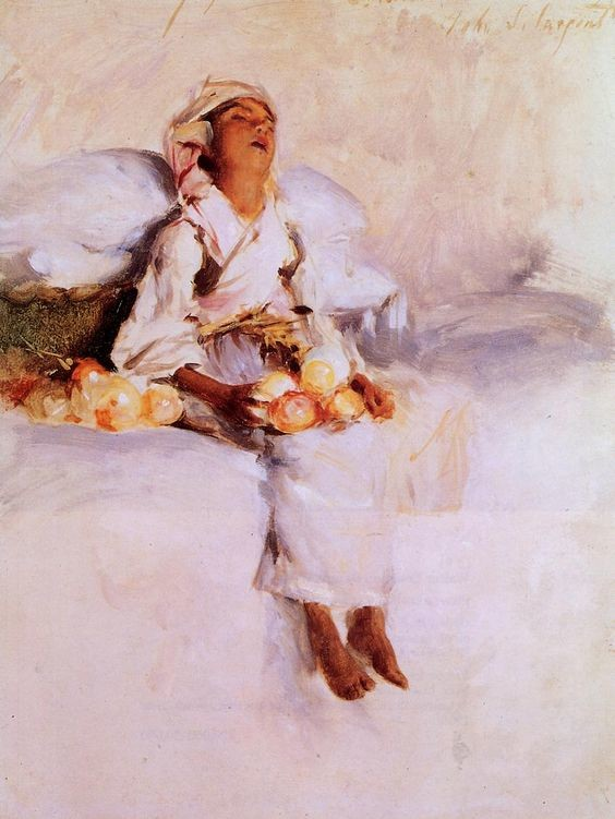 John Singer Sargent: The little fruit seller
