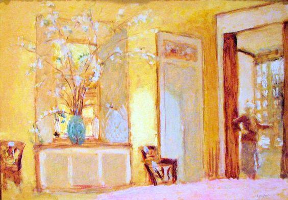 Edouard Vuillard: Vrouw in een interieur