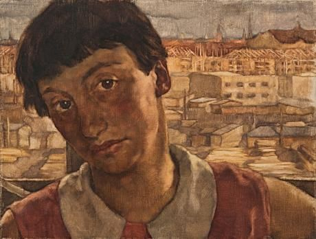 Lotte Laserstein: Self portrait