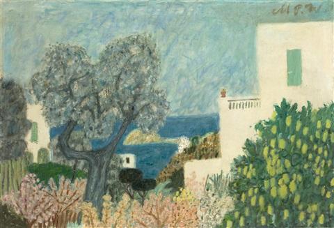 Max Peiffer Watenphul: Haus Gilles auf Ischia