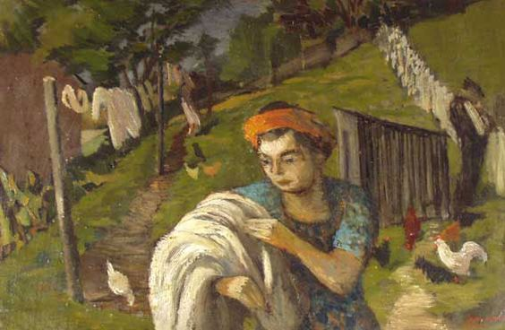 John Elwyn: Hanging out the washing