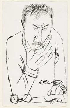 Ben Shahn: Self portrait