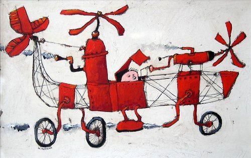 Wim Hofman: vliegen