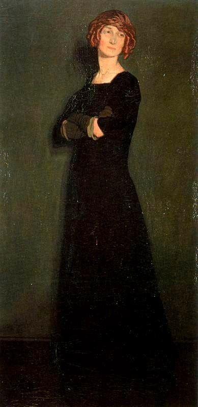 Ignacio Zuloaga: senora Malinowska