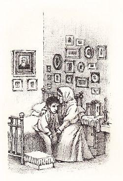 Maurice Sendak: illustratie bij Tolstoy