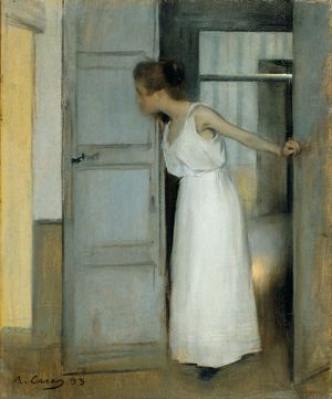 Ramon Casas i Carbó: at the Moulin de la Galette or la Madeleine