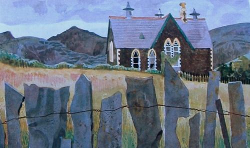 Kenneth Rowntree: School at Upper Corris