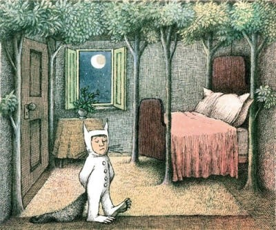 Maurice Sendak, from: Where the wild things are
