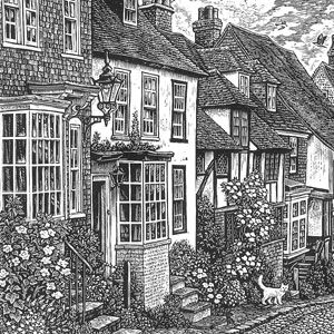 Sue Scullard: wood engraving