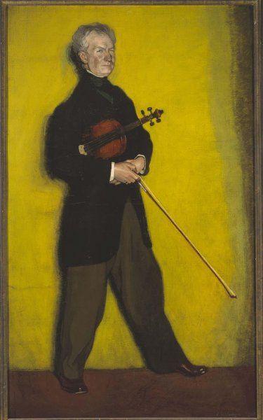 Ignacio Zuloaga: de violist Larrapidi